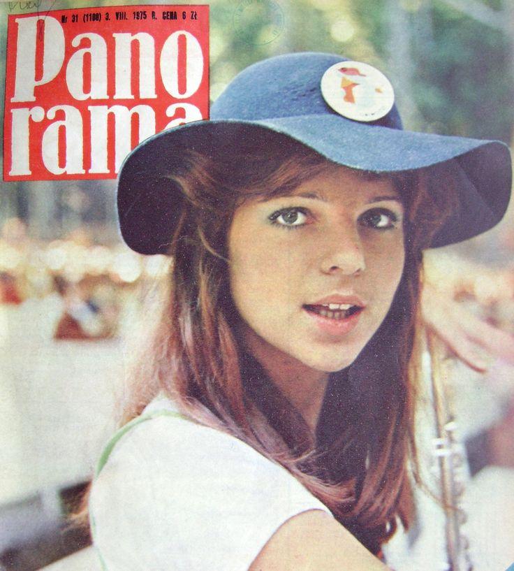 Elżbieta Dmoch na okładce Panoramy, 1975