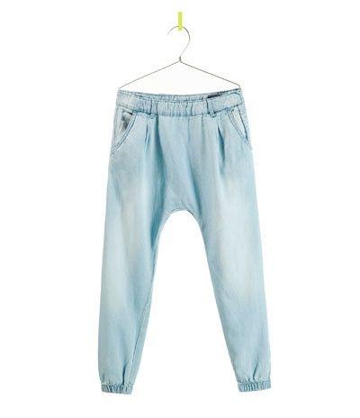 DENIM HAREMBROEK - Jeans - Meisjes - Kinderen - ZARA Belgium