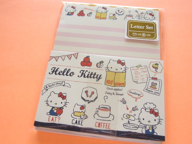 kawaii cute letter set sanrio japan exclusive hello kitty 45101 kawaii shop