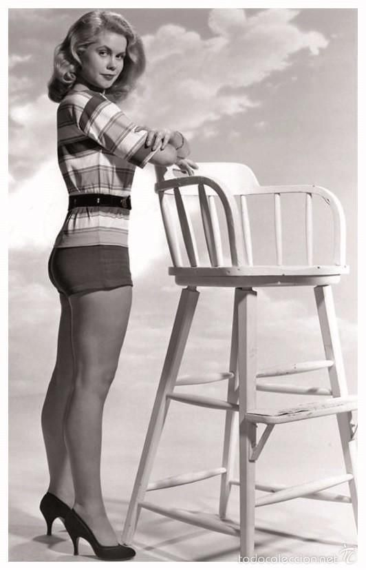 SEXY ELIZABETH MONTGOMERY ACTRESS PIN UP PHOTO POSTCARD - RWP 2003 (02) (Cine - Fotos y Postales de Actores y Actrices)