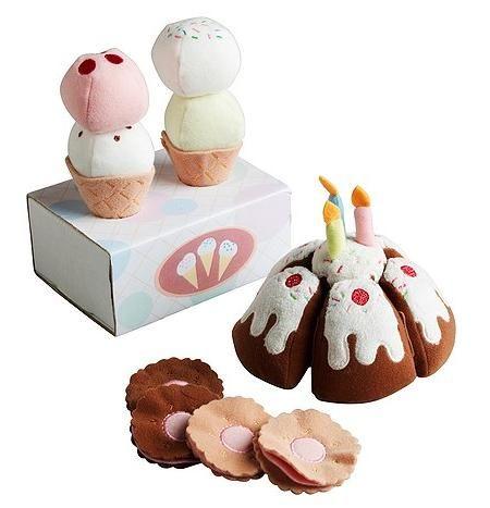 Spring time - ice cream Duktig, peluches de comida para niños