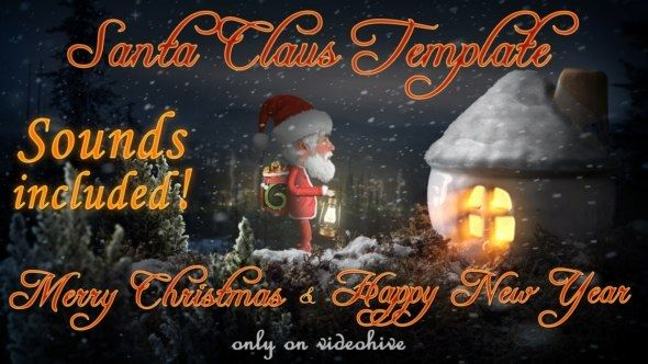 Santa Claus – Merry Christmas and Happy New Year Greetings. It's good for: Best Merry Christmas wishes, Happy New Year greetings, Holiday messages, Corporate holidays wishes, Simple messages, Unique Love messages, Special Event promotion.