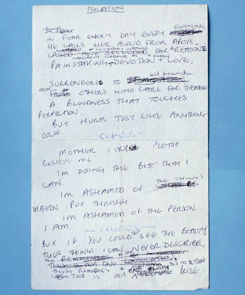 "/// Ian Curtis •Joy Division •""Isolation"""