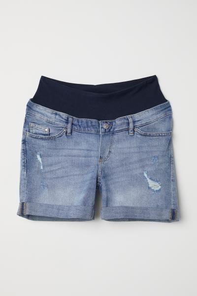 0da3eea34b1e3 MAMA Boyfriend Denim Shorts in 2019 | Garvey | Denim shorts, Denim ...
