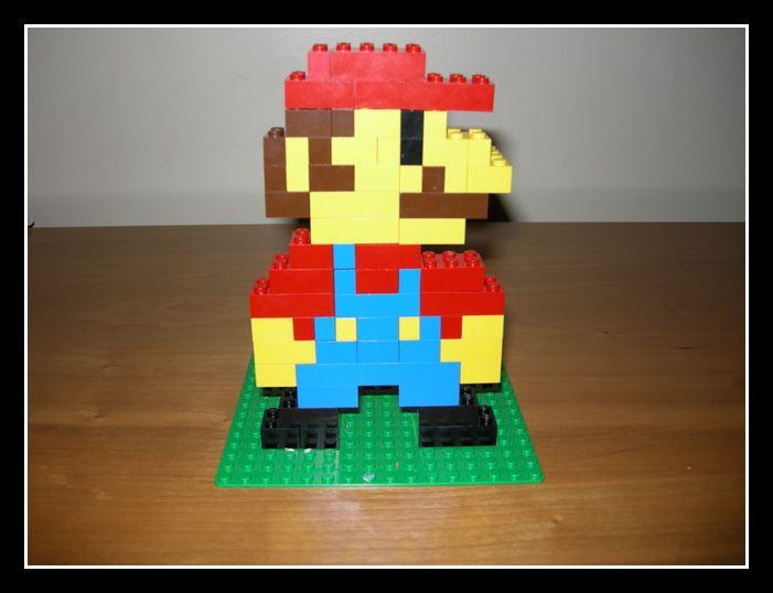 3d lego mario instructions