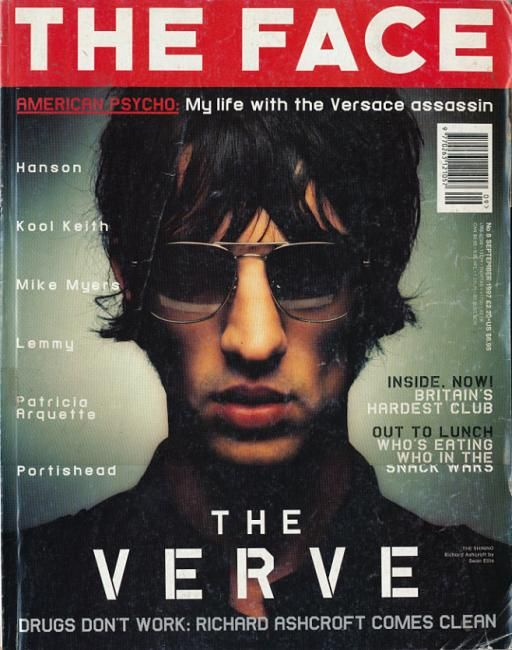 The Verve - Richard Ashcroft  (God damn this issue brings back memories from 1997)
