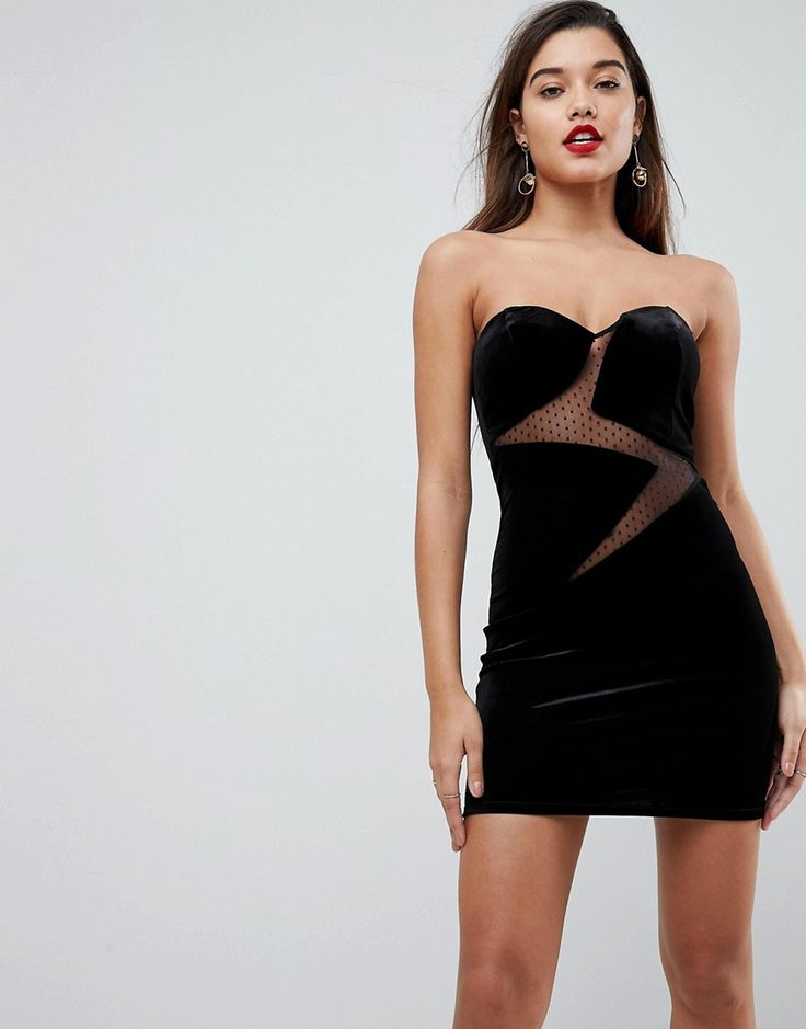asos dobby mesh lightning bolt mini dress 24 00 usd mini black