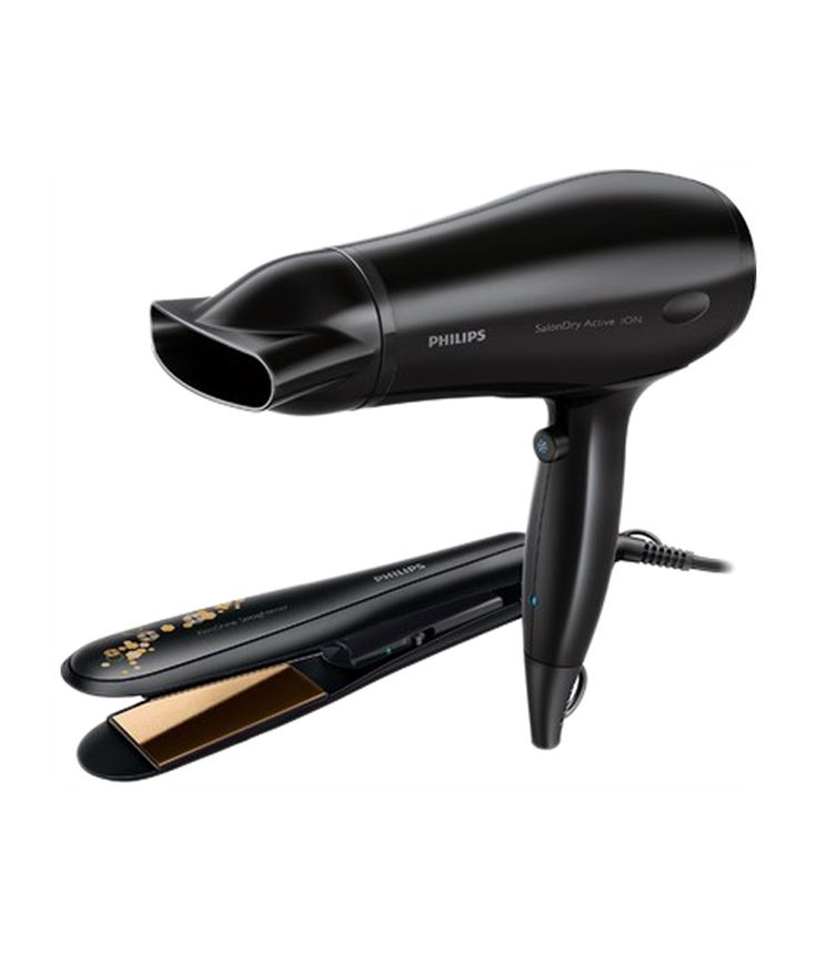 Philips HP8646 Hair Straightener   Hair Dryer Black, http://www.snapdeal.com/product/philips-hair-straightener-hair-dryer/949040676