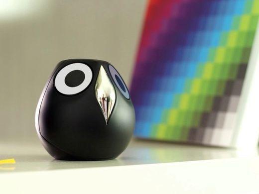 目の表情がクルクル変わるフクロウ型の監視カメラ「Ulo」 - CNET Japan