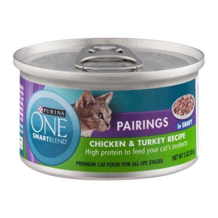 Purina ONE True Instinct Premium Cat Food Chicken & Turkey Recipe, 3.0 OZ