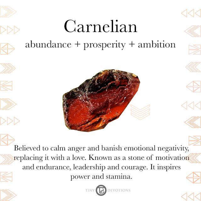 Carnelian | Gemstones & Sacred Materials | Tiny Devotions | Mala Beads