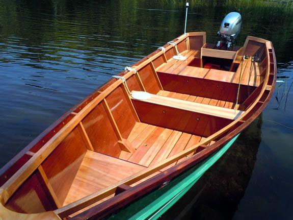 16' San Juan Dory a custom built, beautiful wooden dory just for you | Boats | Pinterest
