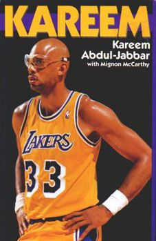 """Kareem Abdul-Jabbar - where my number 433 comes from... """"For 33""""."""