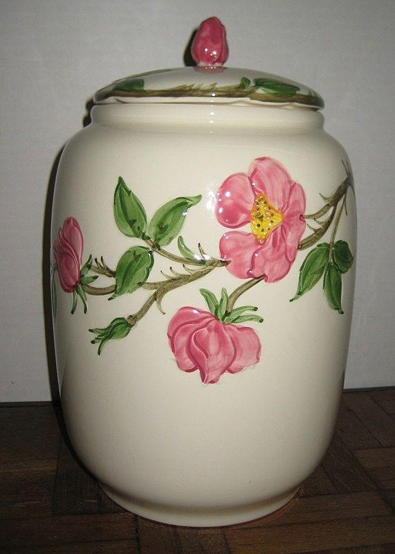 Franciscan Desert Rose Cookie Jar http://www.rubylane.com/item/716911-Fr9070/Franciscan-Desert-Rose-Cookie-Jar#.T1PA-Wy6BtI.twitter via @rubylanecom