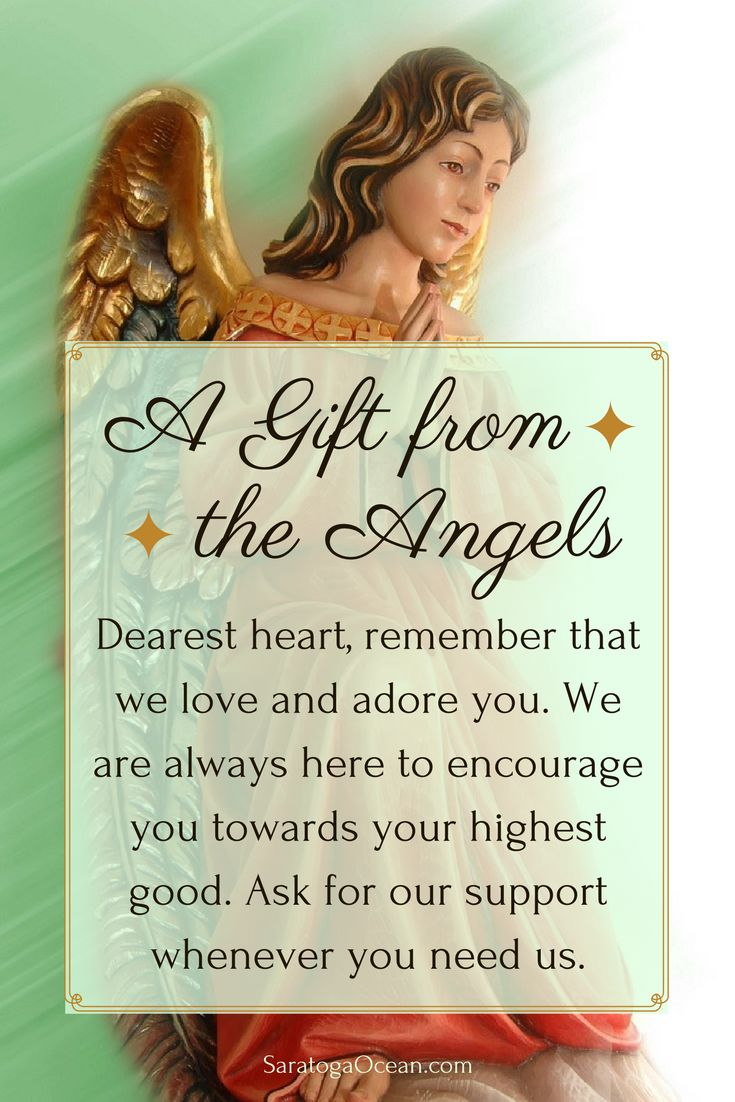 A message to you from your angels <3