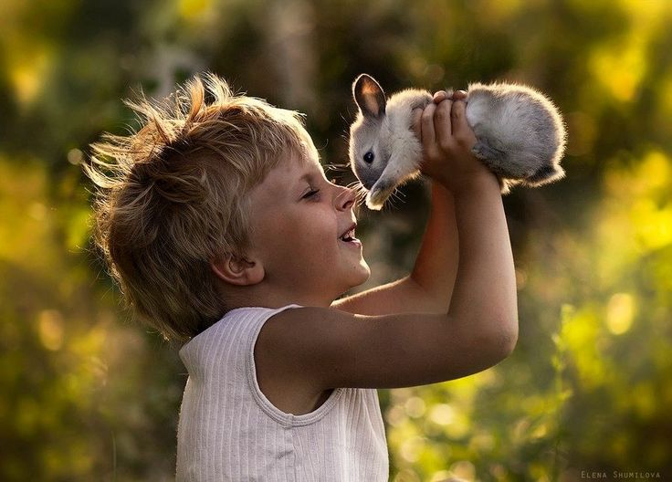 A Russian Photographer Takes Magical Photos Of Her Sons With Their Farm Animals