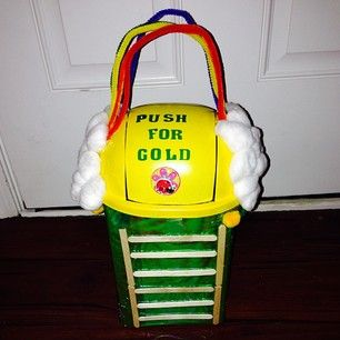 "And the award for ""Best Use Of A Trash Can"" goes to… 