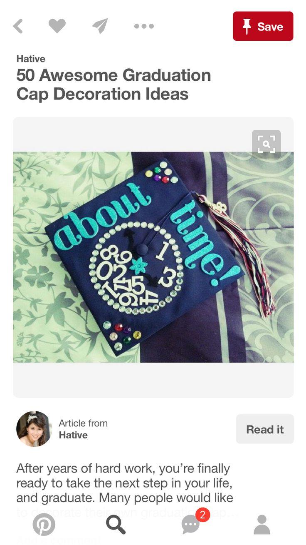 8 best Graduation images on Pinterest | Graduation ideas, Cap ideas ...