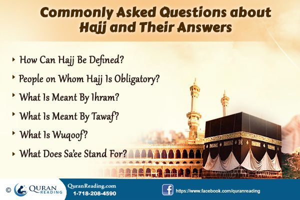 Commonly Asked Questions about Hajj and Their Answers