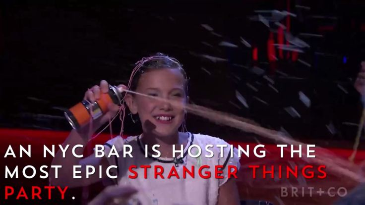 A bar in NYC is hosting an epic Stranger Things-themed party!