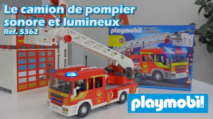 Playmobil (5362) Le camion de pompier lumineux et sonore - City Action