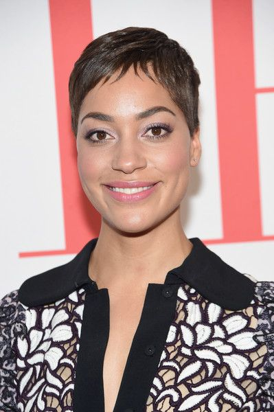 Cush Jumbo Pixie - Cush Jumbo looked oh-so-cool with her pixie at the 'Good Wife' finale party.
