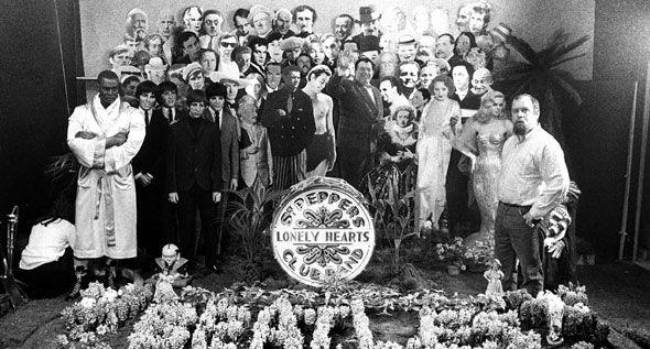 Peter Blake Sgt. Pepper Photoshoot