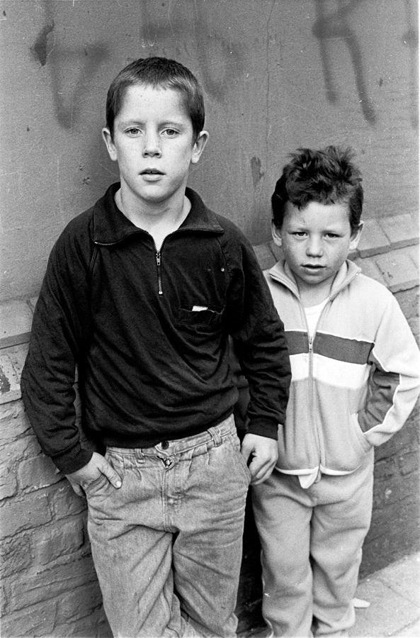 Travellers' Children in London Fields by Colin O'Brien
