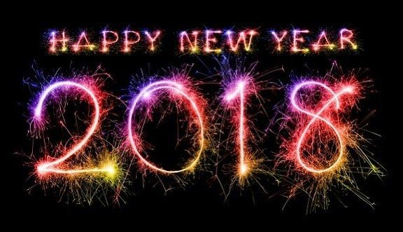 Attractive Happy New Year 2018 Sparkle Picture Glitters