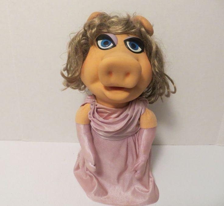 Vintage+Fisher+Price++#855+Miss+Piggy+Hand+Puppet+1976+Jim+Hanson+Muppets++#FisherPrice