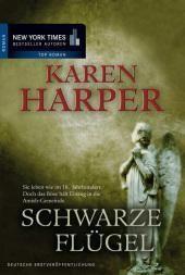gebrauchtes Buch – Karen Harper – Schwarze Flügel