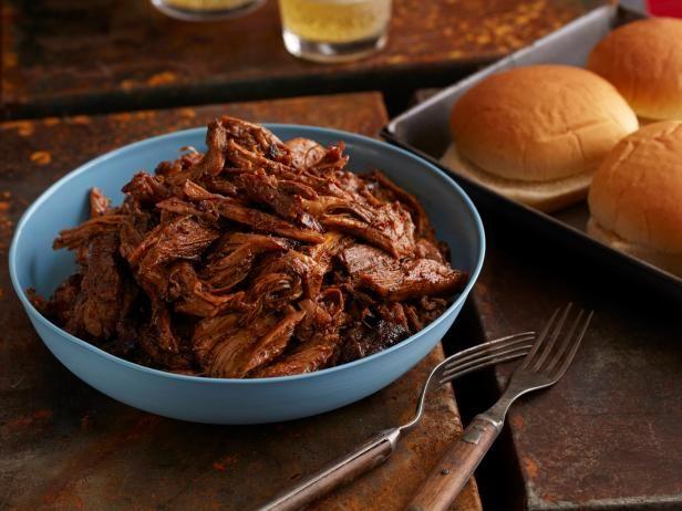 Use beer as a braising liquid for this BBQ Pork ButtButt Recipe, Pork Recipe, Braised Bbq, Bbq Pork, Beer Braised, Bbq Recipe, Cooking Channel, Beer Braies, Pork Butt