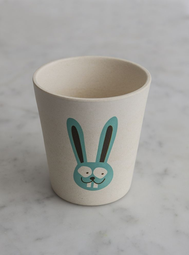 """Jack N' Jill-Rinse & Storage Cup - Bunny on discounted price with coupon codes and online promotional codes from """"LimeTreeKids""""."""