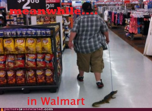 Meanwhile in Walmart..