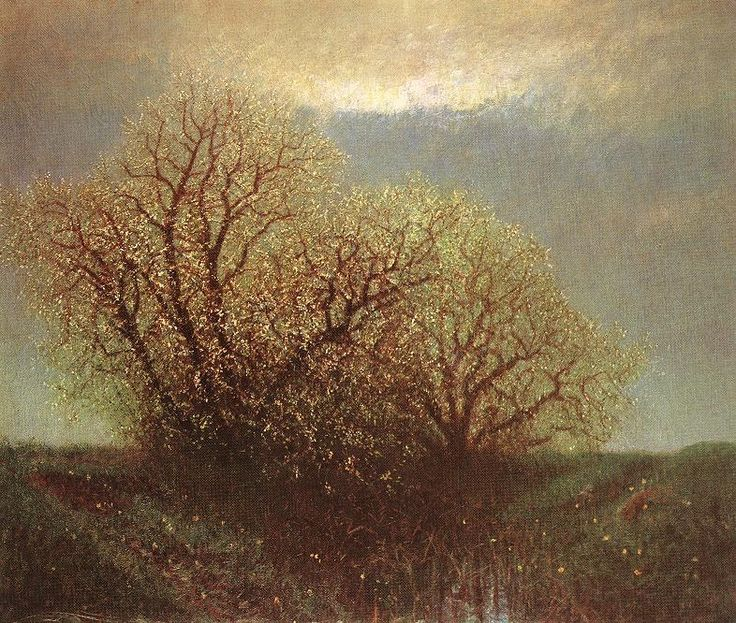 Blossoming Trees - Laszlo Mednyanszky