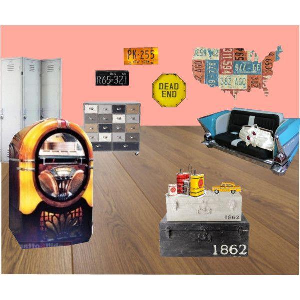"""American garage"" by vezzodidonna on Polyvore"