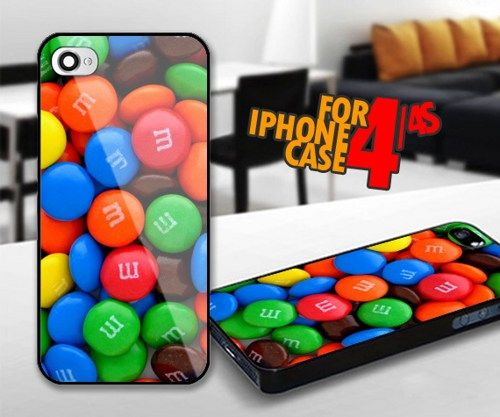 Candy Chocollate for iPhone 4 / 4s Black case | iPhoneCustomCase - Accessories on ArtFire