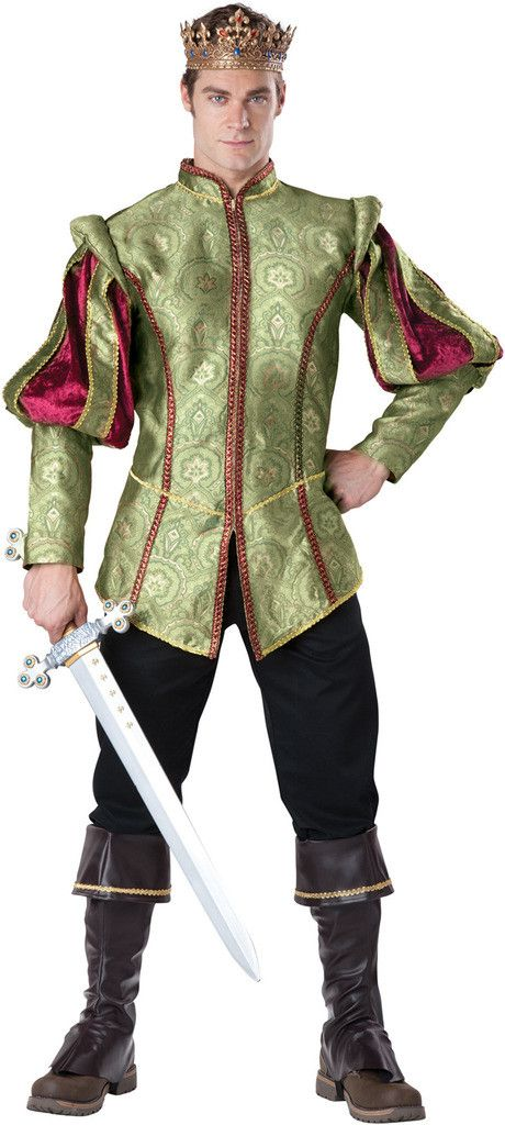 Renaissance Prince Adult Costume Weight (lbs) 2.15 Length (inches) 17 Width (inches) 23 Height(inches) 2