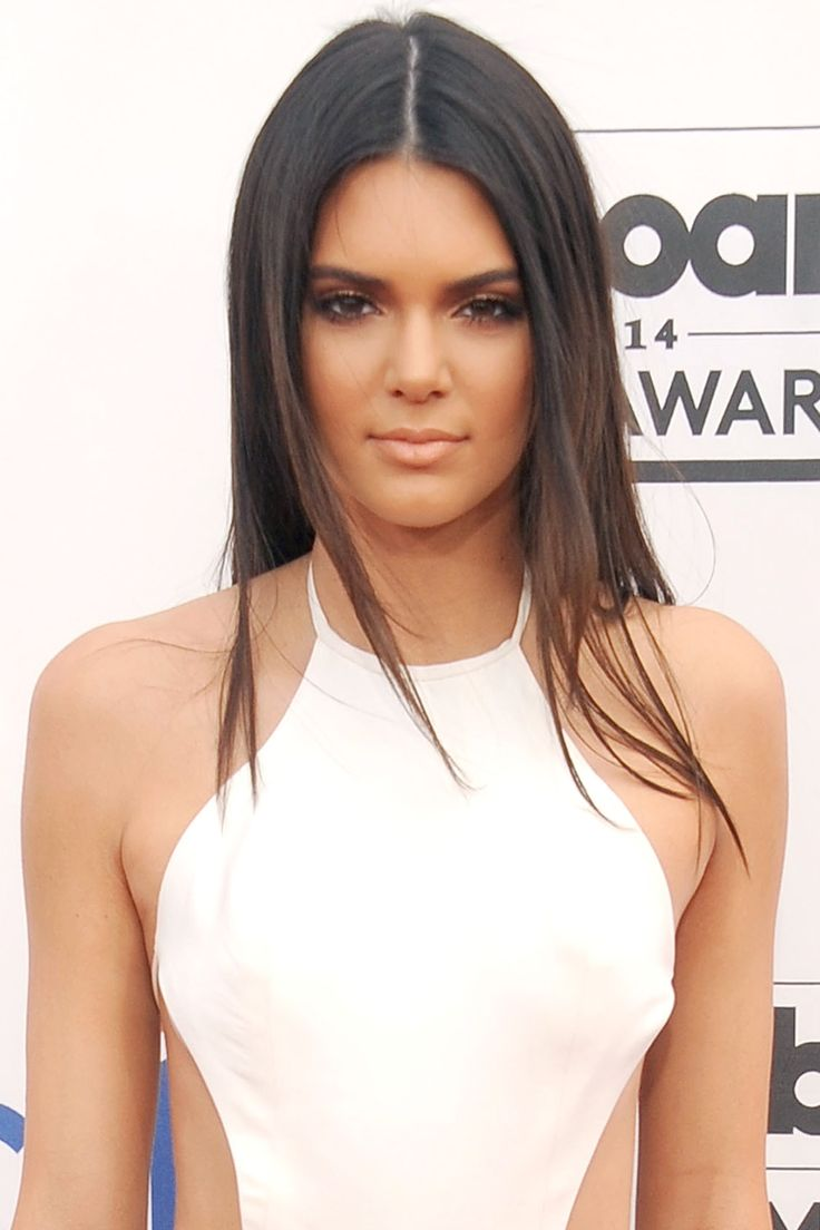 The easiest way to nail red carpet beauty is with superstraight hair and bronze skin. - HarpersBAZAAR.com