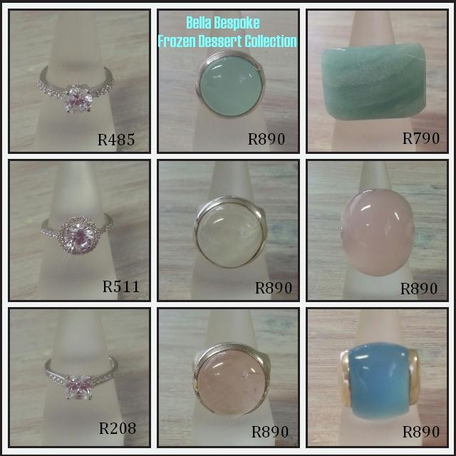 Frozen Dessert Collection #jewellery #rings #engagement #beautiful