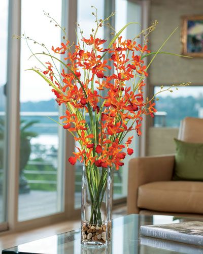 Dramatic High Impact Large Silk Flower Arrangements From