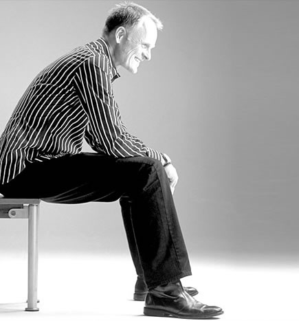 "HANS THYGE RAUNKJAER - designer for Bigelli Marmi.  ""collection Yo & Me"""
