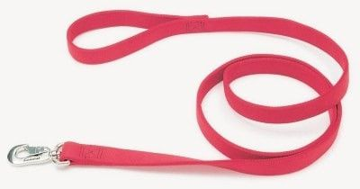 """DOG COLLARS & LEADS - NYLON - 2904 DOUBLE LEAD 1"""" - 4' RED - COASTAL PET PRODUCTS, INC. - UPC: 76484067310 - DEPT: DOG PRODUCTS"""