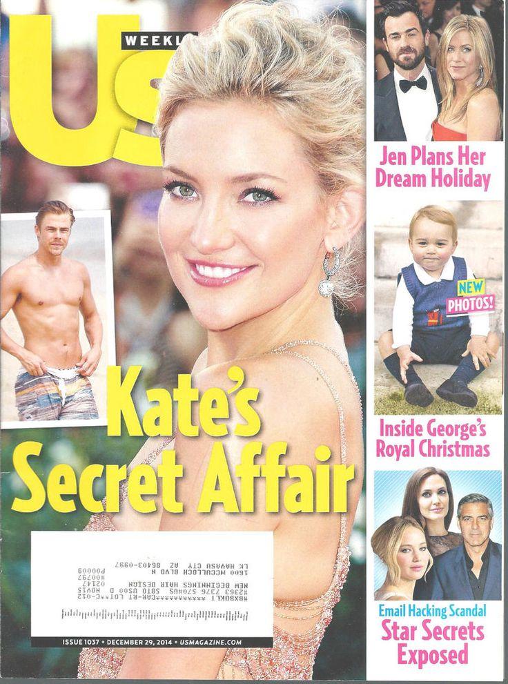 Kate Hudson Derek Hough Prince George Jennifer Aniston US Magazine Dec 29 2014