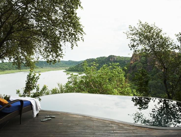 Views that go on forever - Singita Pamushana Lodge