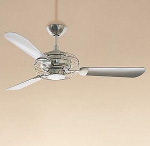 Restoration Hardware retro ceiling fan