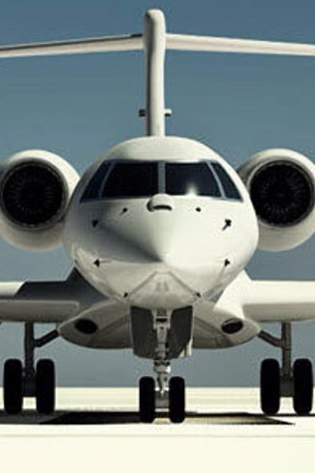 private jet [Flown with my ex and kiddos so many times since he's a private pilot! Kids still get nervous! ha!]