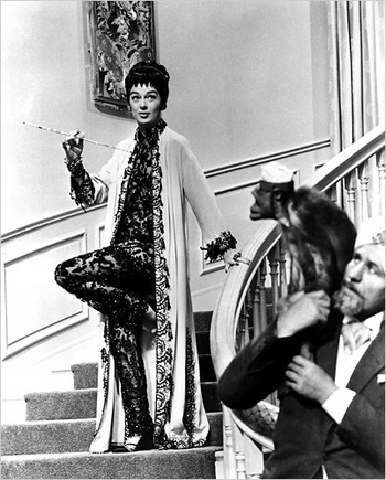 "Auntie Mame (1958)    Warner Bros. Pictures    ""Life is a banquet, and most poor suckers are starving to death!"" — Rosalind Russell as Auntie Mame"