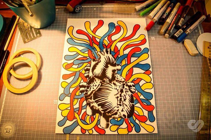 Stencil hearth!