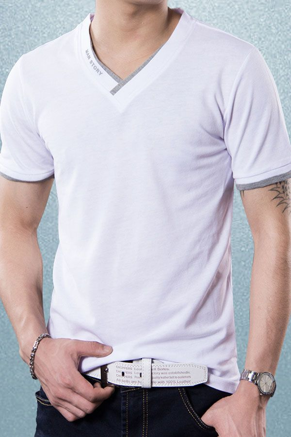 Back to basics never looked better. This best-selling men's tee by Liverpool Private Reserve is a versatile must-have for every man's wardrobe. Wear it to work or play, or pair it with a jacket or shirts and wear it out and stroll leisurely. #Clothing #Style